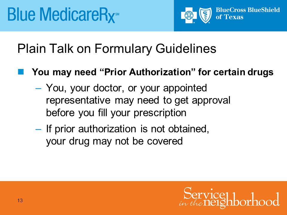 Plain Talk on Formulary Guidelines