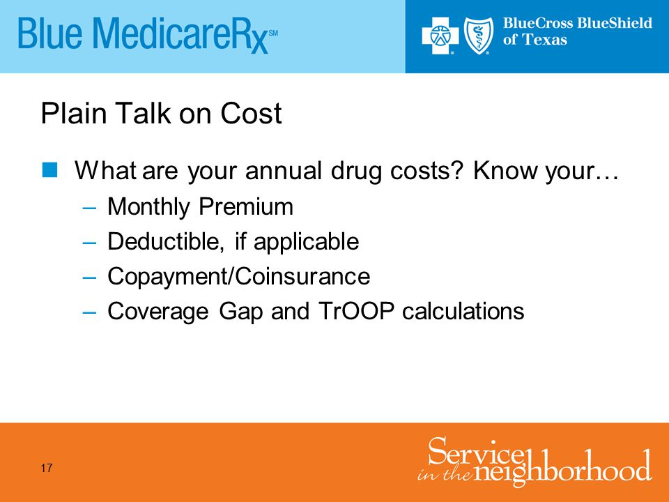 Plain Talk on Cost What are your annual drug costs Know your…