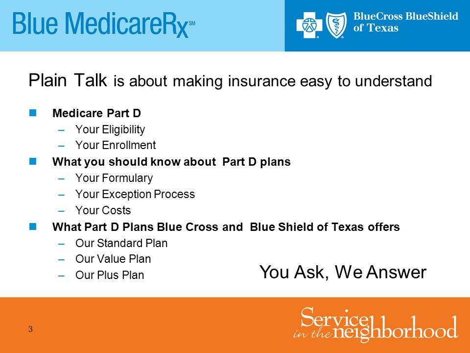 Plain Talk is about making insurance easy to understand