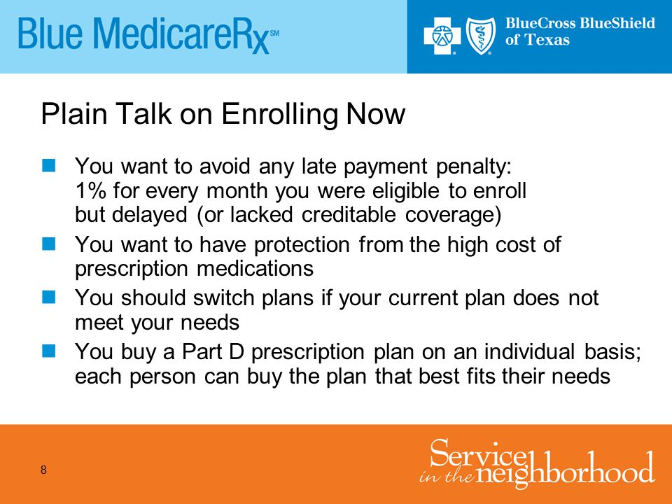 Plain Talk on Enrolling Now