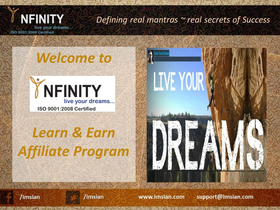 Welcome to Learn & Earn Affiliate Program