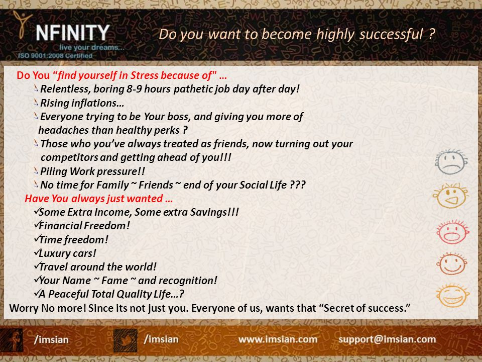 Do you want to become highly successful