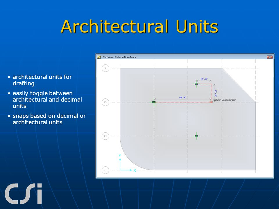 Architectural Units architectural units for drafting