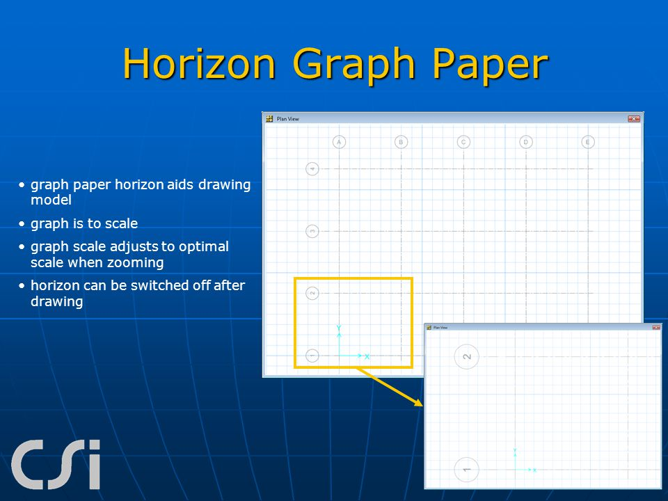 Horizon Graph Paper graph paper horizon aids drawing model