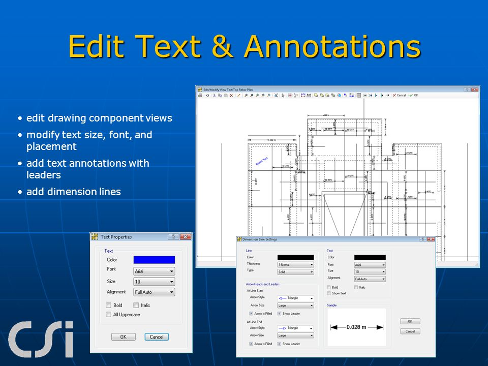 Edit Text & Annotations