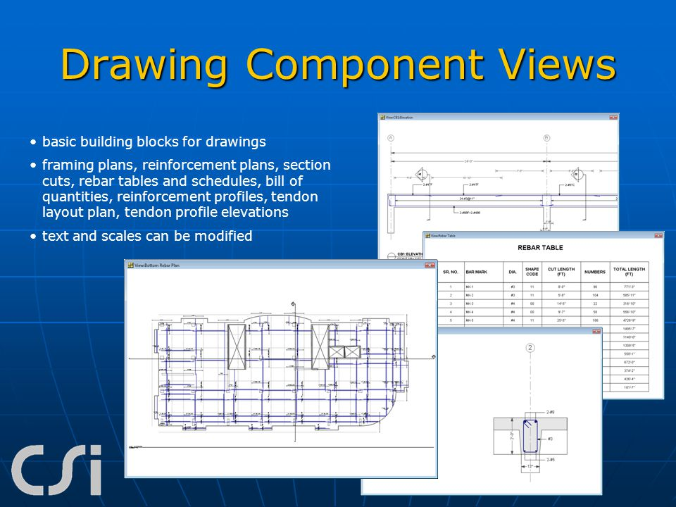 Drawing Component Views