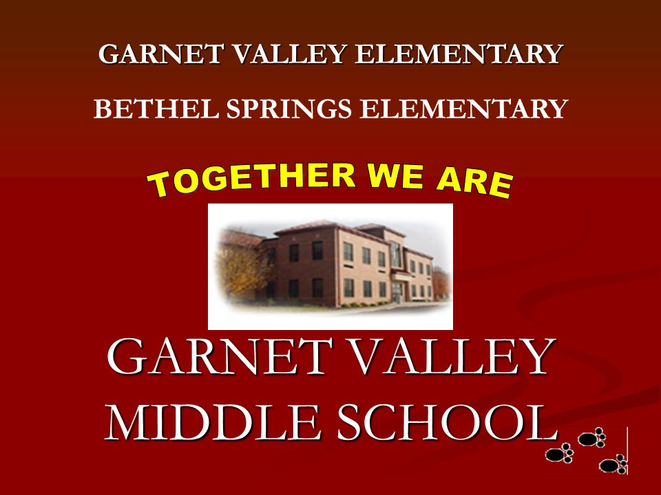 GARNET VALLEY MIDDLE SCHOOL
