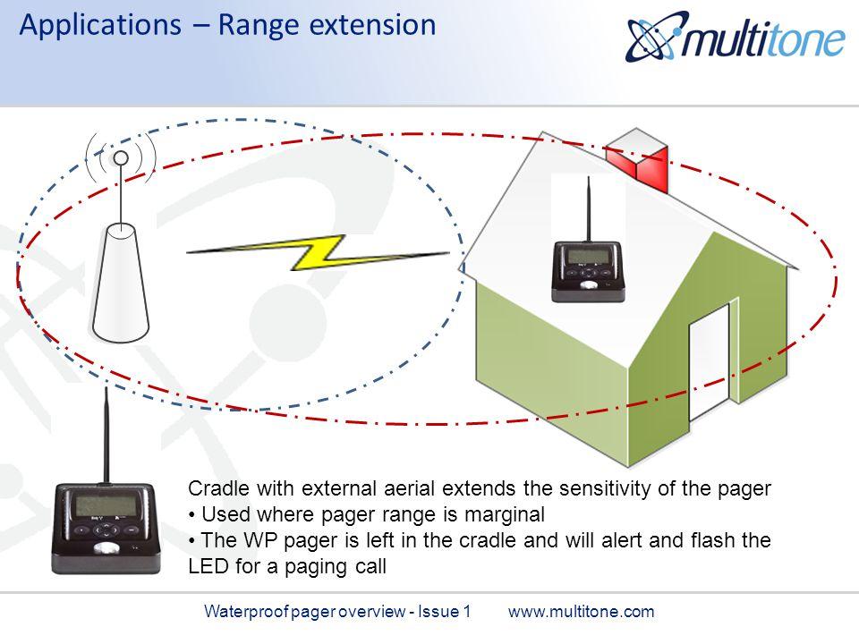 Applications – Range extension