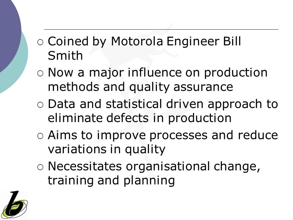 Coined by Motorola Engineer Bill Smith