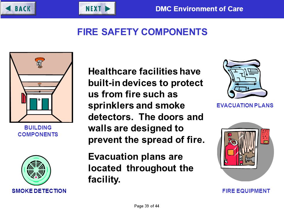 FIRE SAFETY COMPONENTS