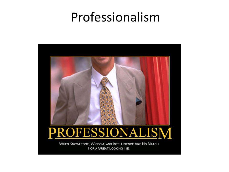 Professionalism 55