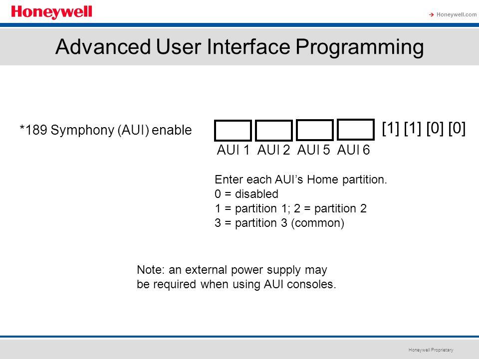 Advanced User Interface Programming