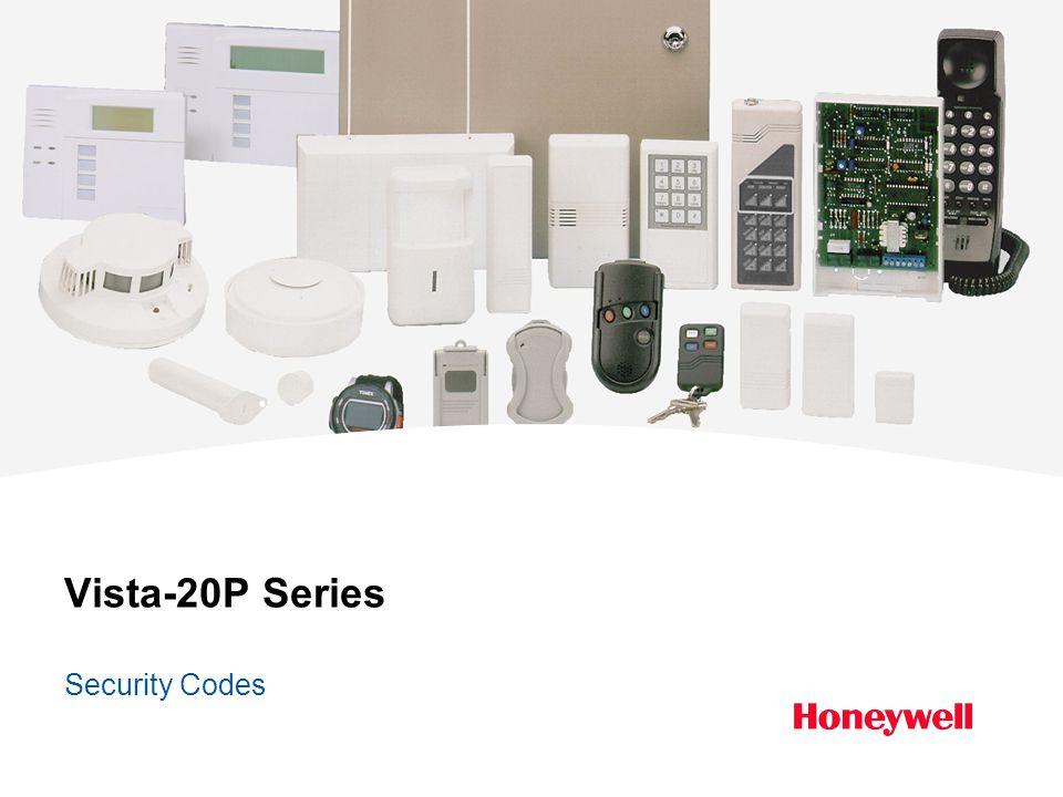 Vista-20P Series Security Codes