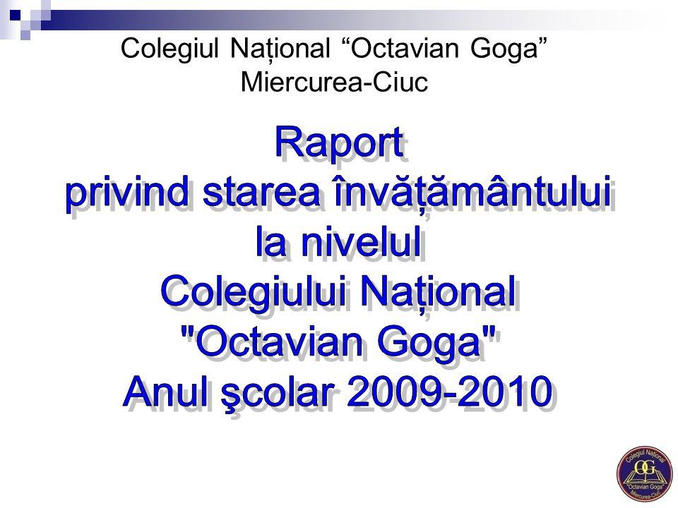 Colegiul Naţional Octavian Goga Miercurea-Ciuc