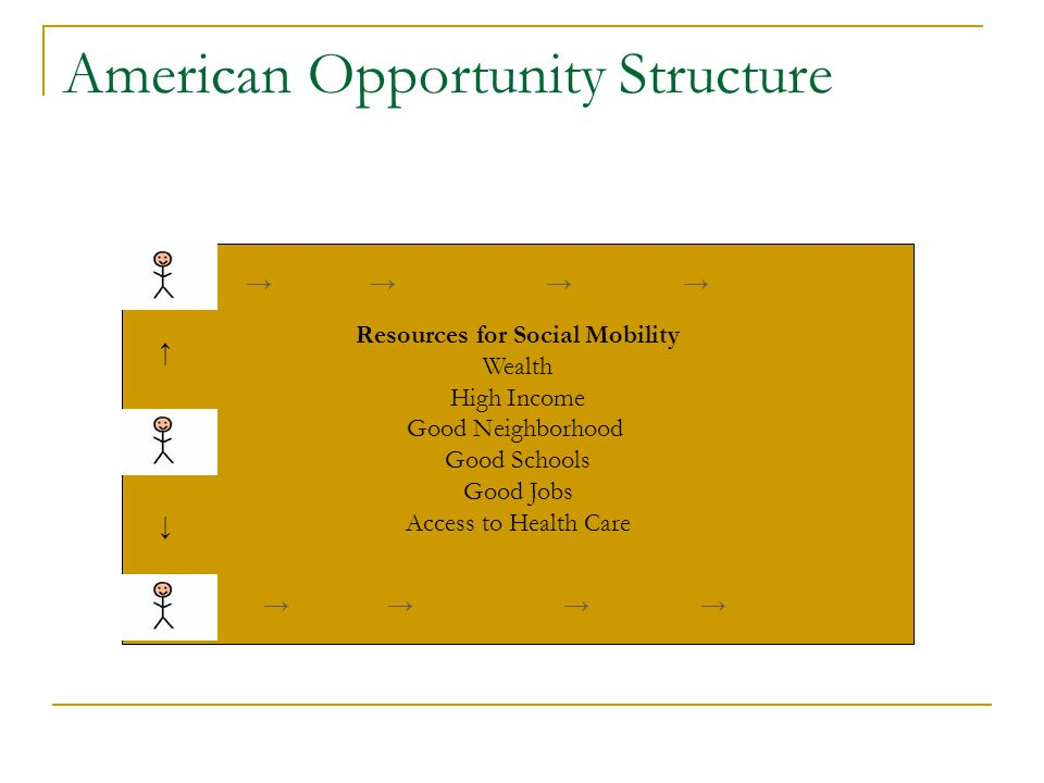 American Opportunity Structure