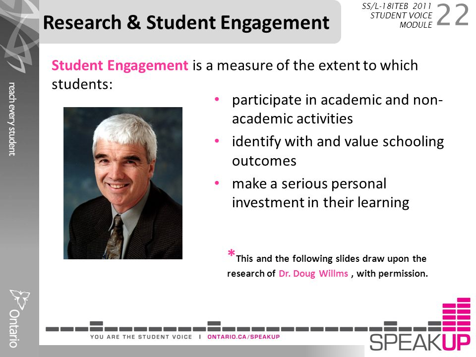 Research & Student Engagement