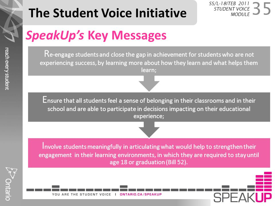 The Student Voice Initiative