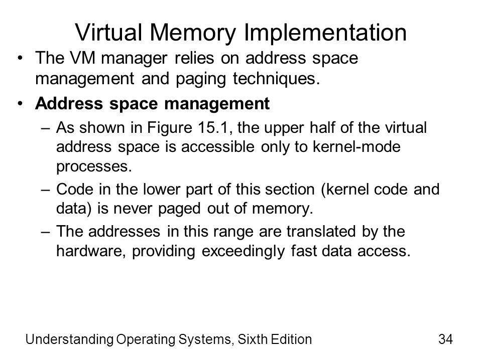 Virtual Memory Implementation