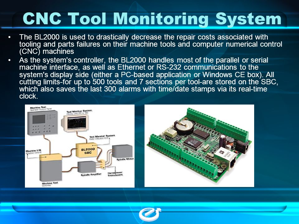 CNC Tool Monitoring System