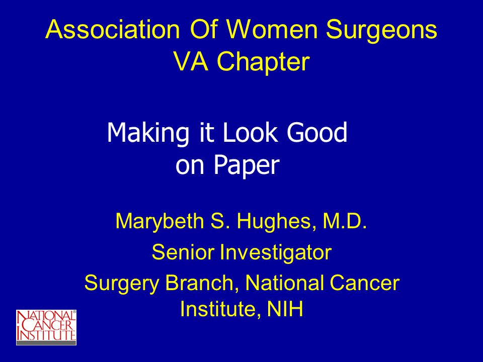Association Of Women Surgeons VA Chapter