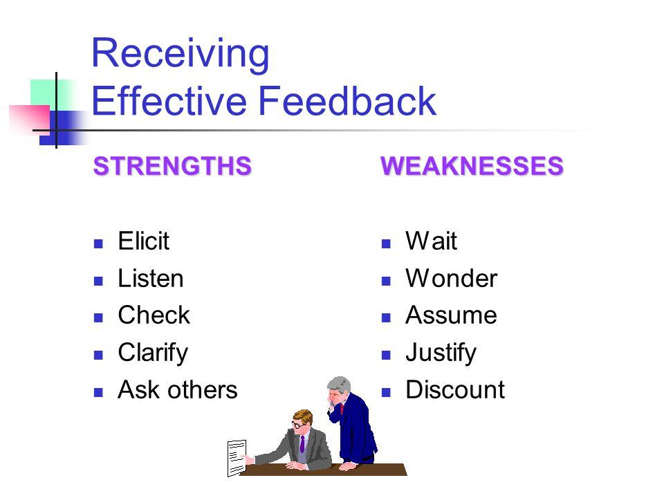 Receiving Effective Feedback