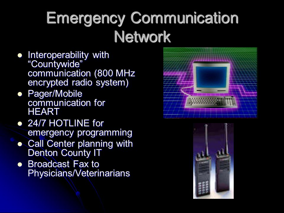 Emergency Communication Network