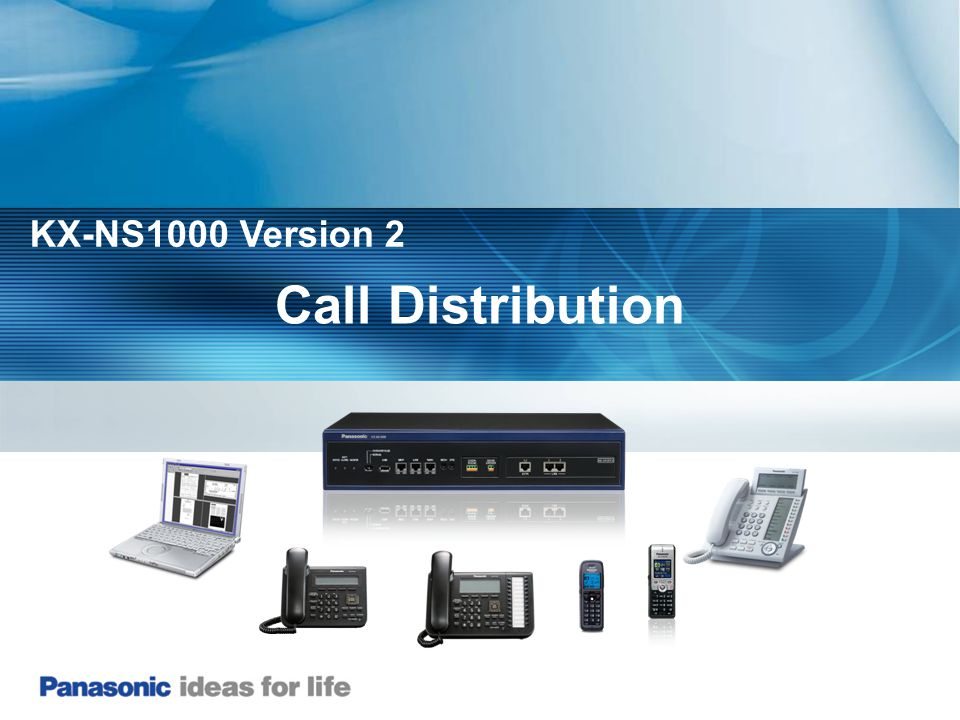 KX-NS1000 Version 2 Call Distribution