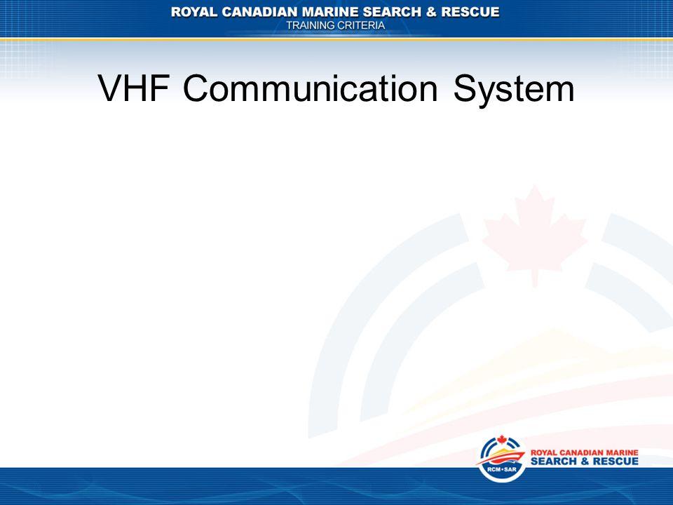 VHF Communication System