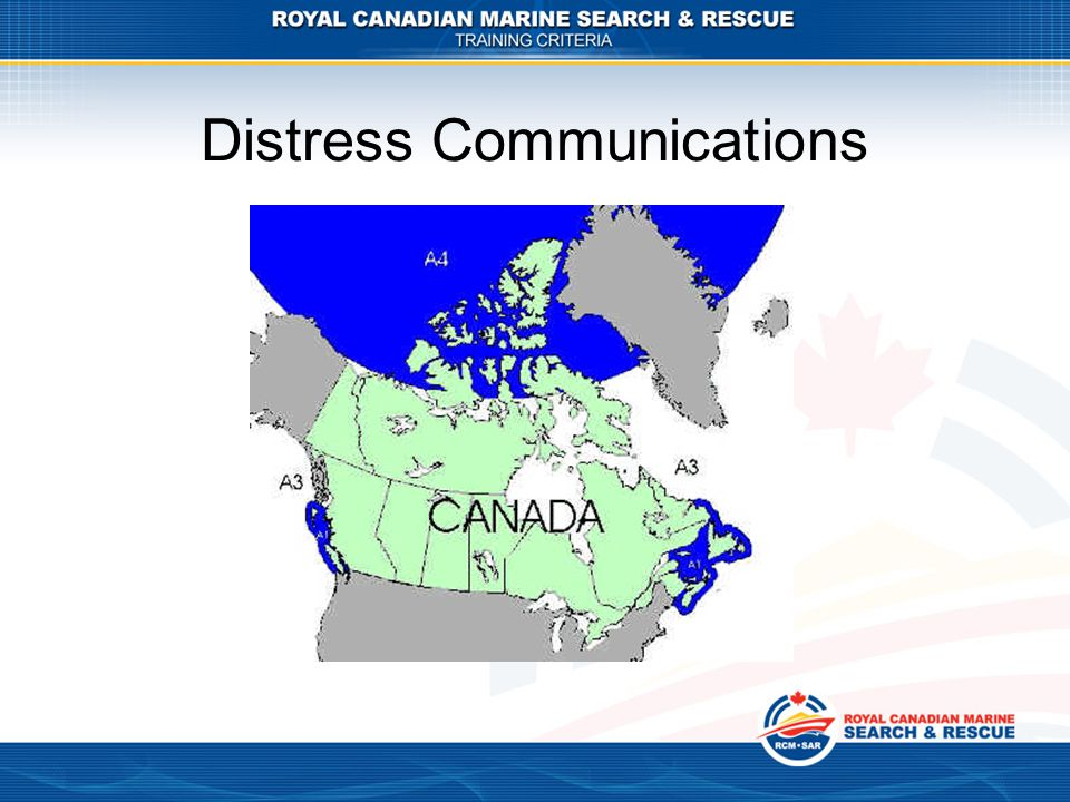 Distress Communications