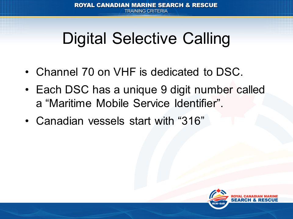Digital Selective Calling