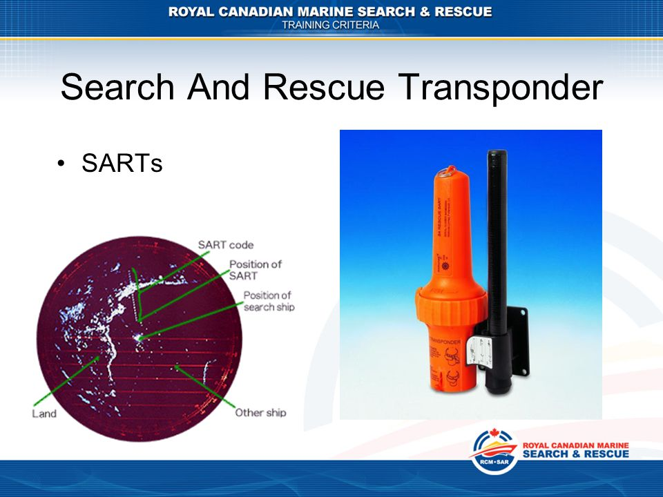 Search And Rescue Transponder