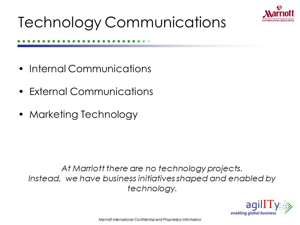 Technology Communications