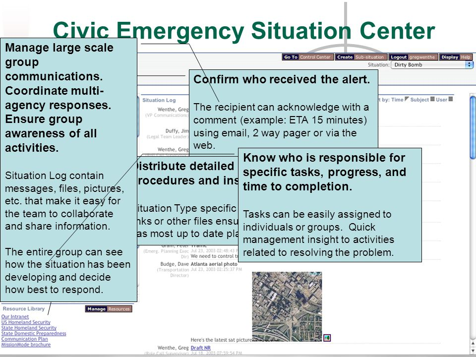 Civic Emergency Situation Center