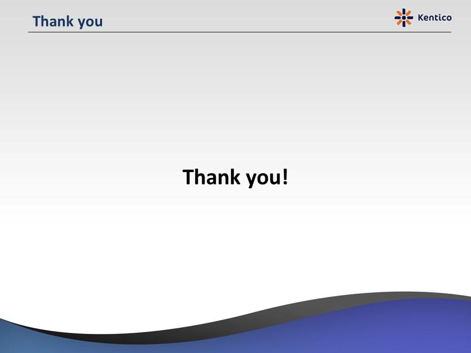 Thank you Thank you!