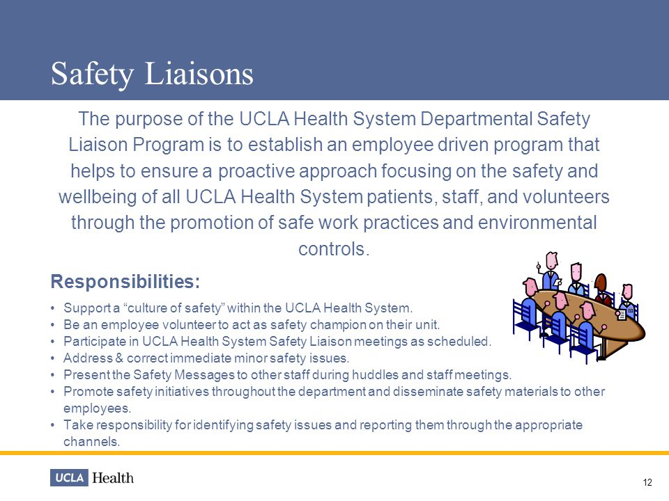 Safety Liaisons
