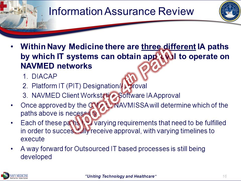 Information Assurance Review