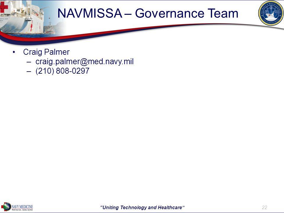 NAVMISSA – Governance Team