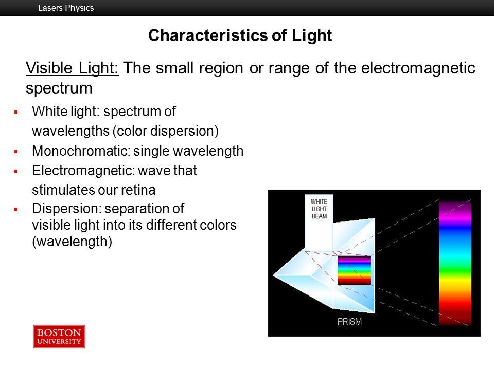 Characteristics of Light