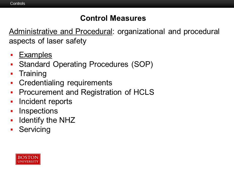 Standard Operating Procedures (SOP) Training