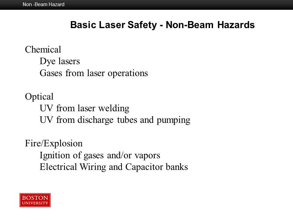 Basic Laser Safety - Non-Beam Hazards
