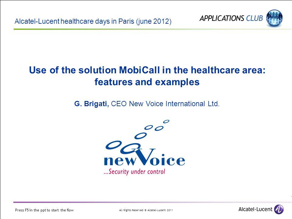 G. Brigati, CEO New Voice International Ltd.