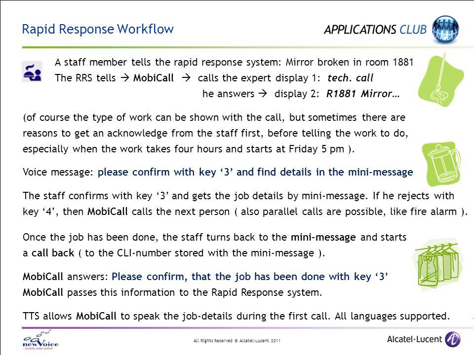 Rapid Response Workflow