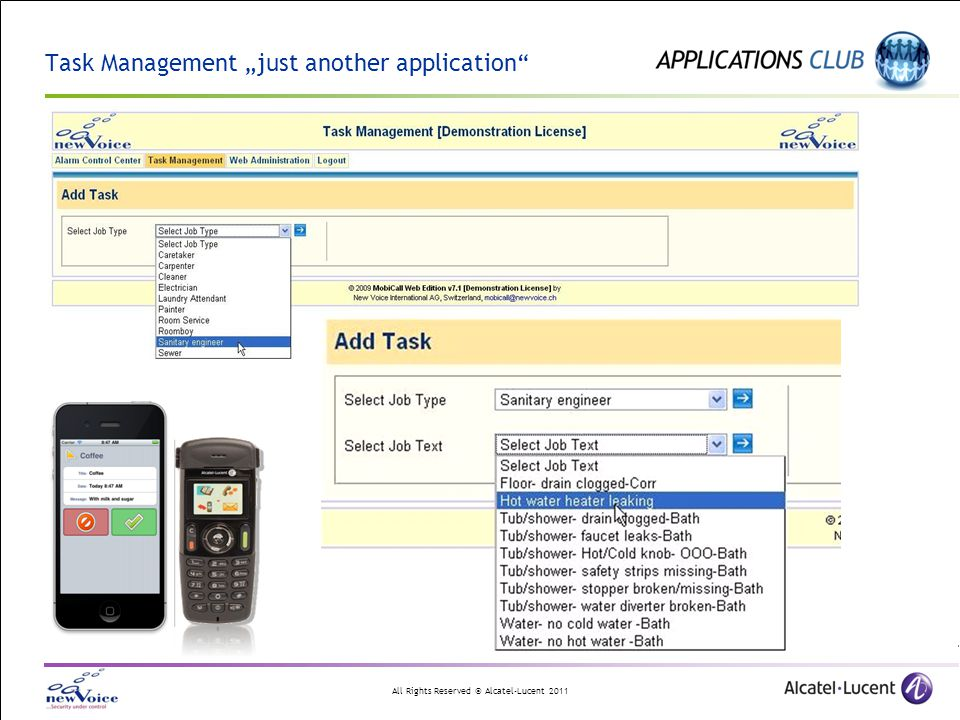 "Task Management ""just another application"