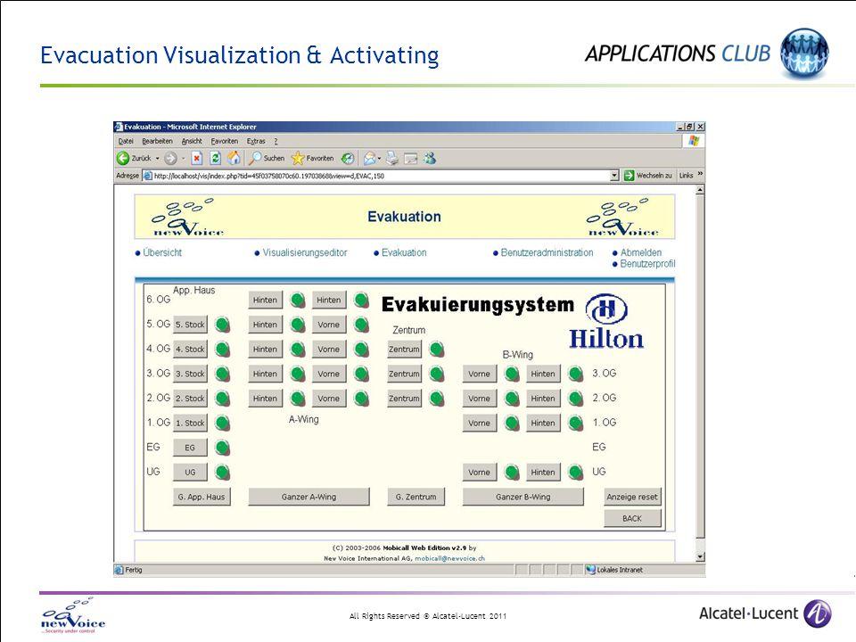 Evacuation Visualization & Activating