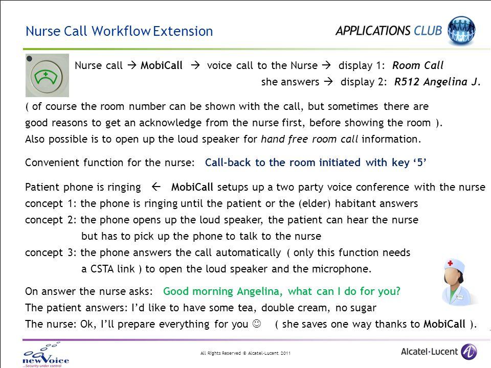 Nurse Call Workflow Extension
