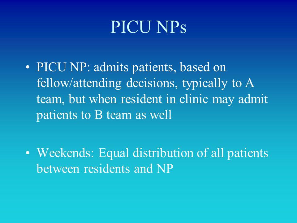 PICU NPs