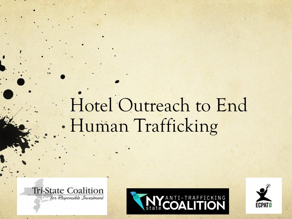 Hotel Outreach to End Human Trafficking