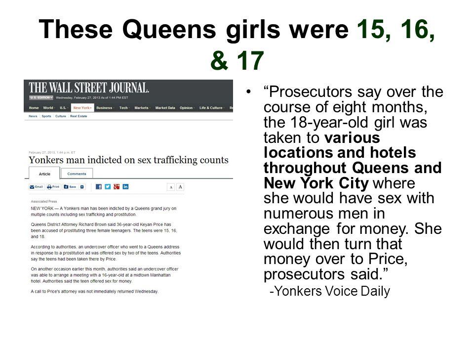 These Queens girls were 15, 16, & 17