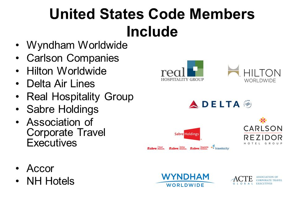 United States Code Members Include