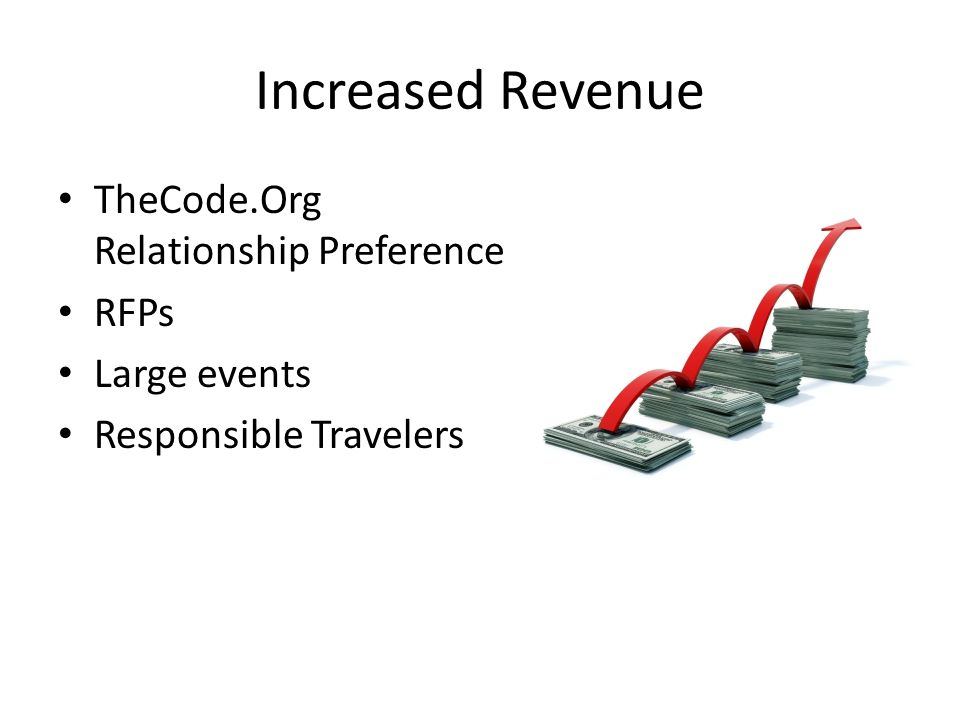 Increased Revenue TheCode.Org Relationship Preference RFPs